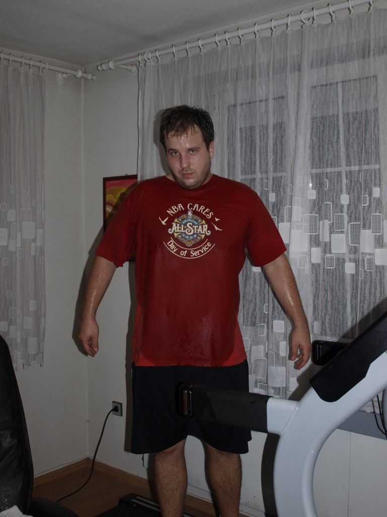 Igor Kromka po behu