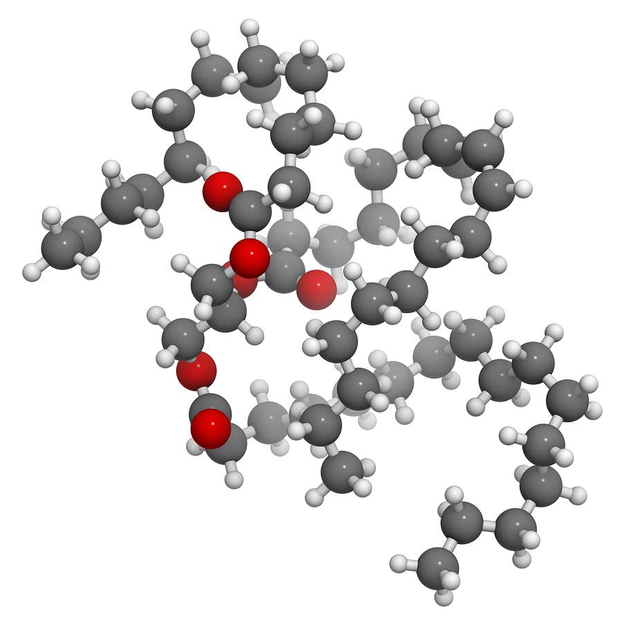 triglycerid molekula živočíšneho tuku